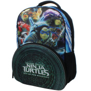 """Nickelodeon Teenage Mutant Ninja Turtles """"Out of the Shadows"""" 41cm Backpack with Side Mesh Pockets"""