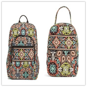 Vera Bradley Campus Backpack and Lunch Bunch Sierra
