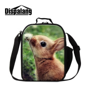 Dispalang Animal Insulated Lunch Bags for Children Cute Lunch Box Bags for Adults