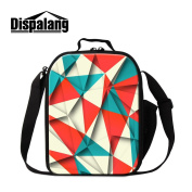 Dispalang Art Insulated Lunch Bags for Children Personalaized Cooler Bags for Adults