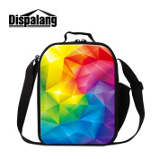 Dispalang Art Insulated Lunch Cooler Bags for Children Fashion Lunch Container for Work