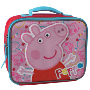 """Nick Junior Peppa Pig """"Pig Head"""" Insulated Lunch Kit"""