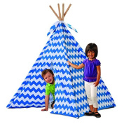 Discovery Kids Blue Canvas Play Teepee