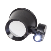 Stalwart Jewellers Eye Loupe Magnifier with Adjustable LED