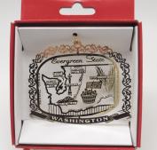 Washington State Ornament Travel Souvenir Gift