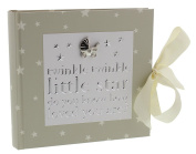 Sweet and Sentimental Neutral Coloured Baby 10cm x 15cm Photo Album By Haysom Interiors