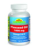 Nova Nutritions Flaxseed Oil 1000 mg 240 Softgels