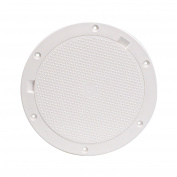 Beckson 20cm Non-Skid Pry-Out Deck Plate-White