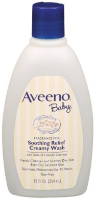 Aveeno Baby Soothing Relief Cream Wash, 12-Fluid Ounces Bottles (Pack of 3) Size: Pack of 3, Model: , Newborn & Baby Supply