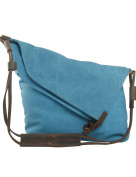 Youlee Canvas Shoulder Bags Messenger Bags Travel Bags Shopping Bags Blue
