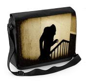 Nosferatu Stairs Laptop Messenger Bag