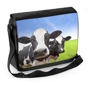 Cow Herd Laptop Messenger Bag