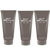Three Pack David Beckham Beyond Hair and Body Wash 3x200ml
