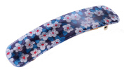 Liberty Blue Mitsy Hair Clip   Handmade in France