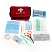 Amlaiworld Emergency Survival First Aid Kit Pack Travel Medical Sports Home Bag