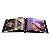Fotospeed easybook. A4 Landscape Portfolio Album without window. Easy to clip in Photographs