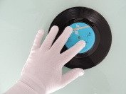 Clear Groove Precision Record Cleaning Gloves (2 PAIRS) for CD & Vinyl Anti Static Lint Free