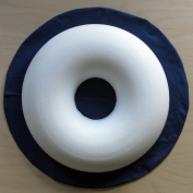 Comfortnights® Surgical Ring Cushion (donut cushion) (piles/pile),with washable Blue poly cotton cover
