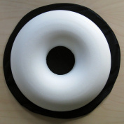 Comfortnights® Surgical Ring Cushion (donut cushion) (piles/pile),with washable Black poly cotton cover
