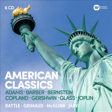 American Classics: Adams, Barber, Bernstein, Copland, Gershwin, Glass, Joplin