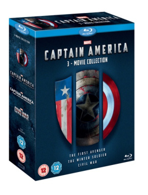 Captain America: 3-movie Collection