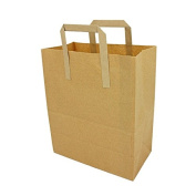 Small Takeaway Carrier With Handles, Paper Bag x 100