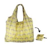 Re-Uz Lifestyle XL Shopper Foldable Reusable Shopping Grocery Bag - Flamingo Mustard