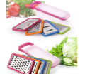HaoYiShang Hand Operated Stainless Steel Manual Grater,Shredded Device Multifunctional Creative Kitchen Utensils Combination Grater
