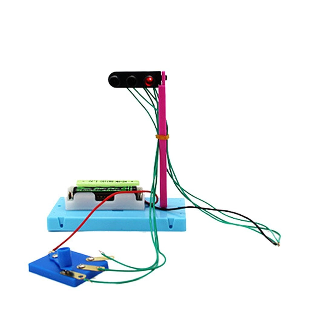 Diy Traffic Light Toy For Kids Science Experiment Equipment Electrical Wiring Australia Educational Toys By Unbranded Shop Online In