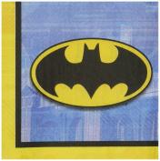 Amscan AMI 501386 Batman Beverage Napkins, AMI 511386 1, Multicoloured