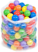 200 Wonder Playball Non-Toxic Non-Recycled Crush Proof Quality Phthalates and BPA Free, 6 Colours