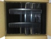 Bulk box of 144 black gents pocket combs - 15cm