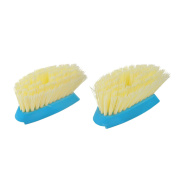 Full Circle Suds Up Soap-Dispensing Dish Brush 2-pack Refill, Blue