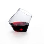 Sempli Cupa-Vino Clear Aerating Wine Glasses, Set of 5.1cm Gift Box