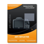 2 x SWIDO Anti-Reflective Screen Protector for Canon PowerShot SX530 HS / SX-530 HS - PREMIUM QUALITY