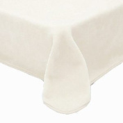 Solaron Queen Solid Cream White Korean Mink Blanket
