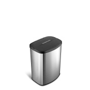 Nine Stars DZT-8-1 Infrared Touchless Stainless Steel Trash Can, 7.9l