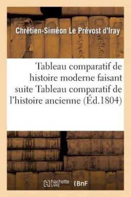 Tableau Comparatif de L'Histoire Moderne Faisant Suite Au Tableau Comparatif de L'Histoire Ancienne (Histoire)