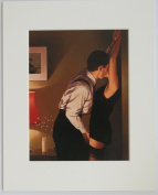 """Game On by Jack Vettriano Mounted Art Print Picture (10"""" x 8"""" - 25cm x 20cm) Erotic Art"""
