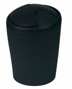 Spirella Move Polypropylen Bin, Black