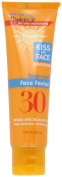 Kiss My Face Face Factor Natural Sunscreen SPF 30 Sunblock for Face and Neck, 60ml