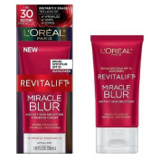 L'Oreal Revitalift Miracle Blur Instant Skin Smoother Finishing Cream, SPF 30 1.18 fl oz (35 ml) by Chom