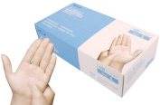 Medical Exam Grade-Clear Vinyl Powder Free Disposable Gloves AQL 1.5 Size Small, Box of 100