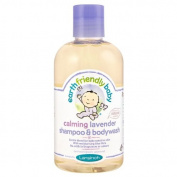 Earth Friendly Baby Calming Lavender Shampoo and Bodywash 250ml