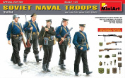 """Miniart 1:35 Scale """"Soviet Naval Troops"""" Plastic Model Kit [Special Edition]"""