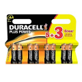 Duracell AA 5+3 Free Batteries