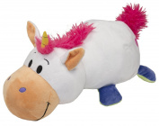 Vivid Imaginations Flip a Zoo 2-In-1 Unicorn/Dragon Soft Toy