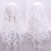 AneShe 80cm Fascinating Long Curly Hair Wig Costume Cosplay Party Wigs with Free Wig Cap and Comb