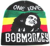 Bob Marley Hat Red Gold Green Jamaica