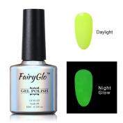 FairyGlo Long Lasting Night Glow Gel Nail Polish Soak Off UV LED Dramatic Manicure Decor Kit Nail Art For Party Carnival Dressing 10ml 6701